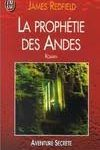 La prophéties des Andes James Redfield livre audio