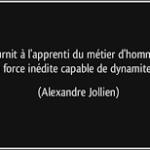 Alexandre Jollien. Le métier d'homme